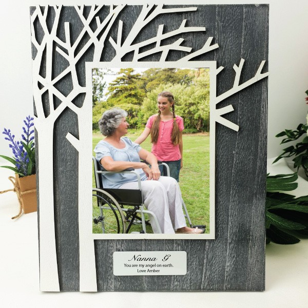 Personalised Nanna Tree of Life Frame