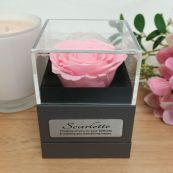 Eternal Pink Rose Birthday Jewellery Gift Box