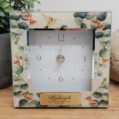 Personalised Glass Desk Clock - Gumtree