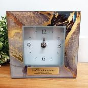 Birthday Glass Desk Clock - Treasure Trove