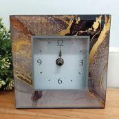 Glass Desk Clock - Treasure Trove