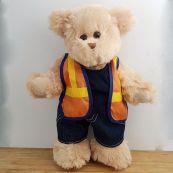 Tradie Builder Dressed Teddy Bear