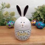 Personalised Easter Trinket Box - Robbie Rabbit
