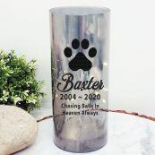 Pet Memorial LED Glass Keepsake Ornament