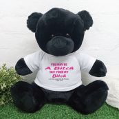 Valentines Bear You may Be A - 40cm Black