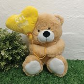 Get Well Bear With Balloon