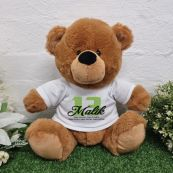 Personalised 13th Birthday Bear Brown Plush 30cm