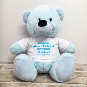 Valentines Bear You may Be A - 40cm Light Blue