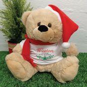 Personalised Christmas Bear 2020- Bells
