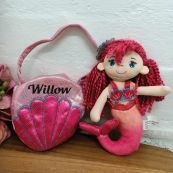 Marion Mermaid with Personalised Bag