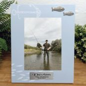 Personalised 18th Birthday Fishing Frame 6x4