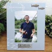 Personalised Birthday Fishing Photo Frame 6x4