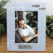 Personalised Memorial Fishing Frame 6x4