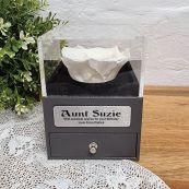 Everlasting White Rose Aunt Jewellery Gift Box
