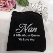 Nana Medium Heart Tiara in Personalised Bag