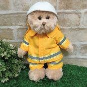 Fireman Phil Bear Plush 30cm