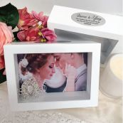 Wedding Keepsake Shadow Box Photo Frame 5x7