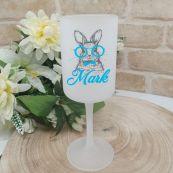 Easter Wine Glass 270ml - Glasses Bunny