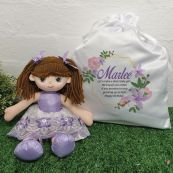 Alexis Ballerina Doll with Personalised Play Sack