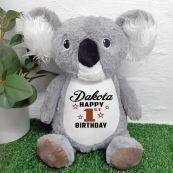 Birthday Koala Cubbie Bear Plush