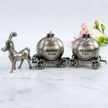 First Tooth & Curl Pewter Cinderella Pumpkin Carriage