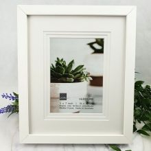 Verdure White  Timber 5x7 Photo Frame
