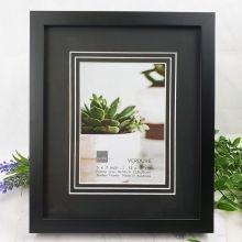 Verdure Black Timber 5x7 Photo Frame