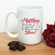 Normal Couple Novelty Coffee Mug