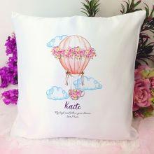Personalised Cushion Cover - Air Balloon