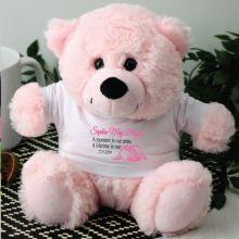 Angel Baby Girl Memorial Teddy Bear