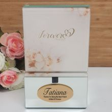 Maid Of Honour Mirrored Forever Always Trinket Box