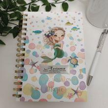 18th Birthday Journal & Pen - Mermaid