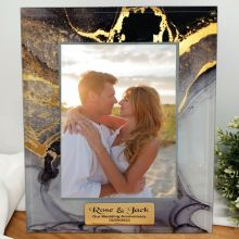 Anniversary Photo Frame 5x7 Treasured Cove