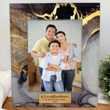 Godfather Personalised Photo Frame 5x7 Treasured Cove