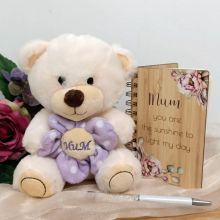 Mum Bear, Notepad & Pen Gift Set