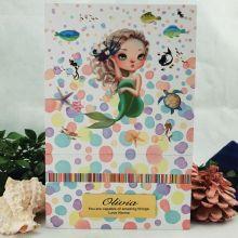 Personalised Trinket Keepsake Box - Mermaid