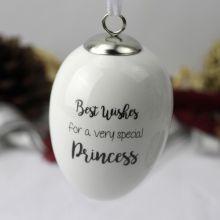 Princess Hanging Egg Decoration Gift