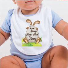 Some Bunny Easter Bib - Mum
