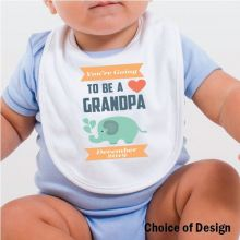 You're going to be a Grandpa Baby Bib