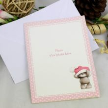 Baby Girl 1st Christmas Photo Cards (8)