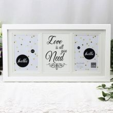Love Is All You Need White Gallery Frame