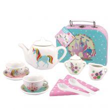 Unicorn Porcelain Tea Set 13pce