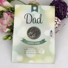 Dad Lucky Coin Card Gift