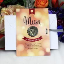 Mum Lucky Coin Card