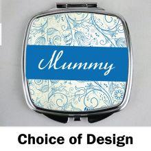 Mum Compact Mirror - Personalised