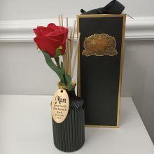 Rose Reed Diffuser Room Fragrance Mum Tag