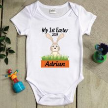 Personalised 1st Easter Bodysuit - Bunny