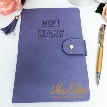 Personalised 2021 Teacher Diary A5 WTV - Iris Tassle
