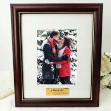 Anniversary Classic Wooden 5x7 Photo Frame with Personal Message