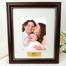 Godfather Classic Wood Photo Frame 5x7 Personalised Message